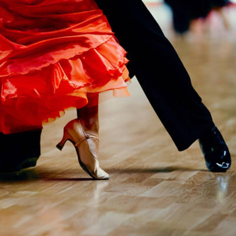 Ballroom dance events