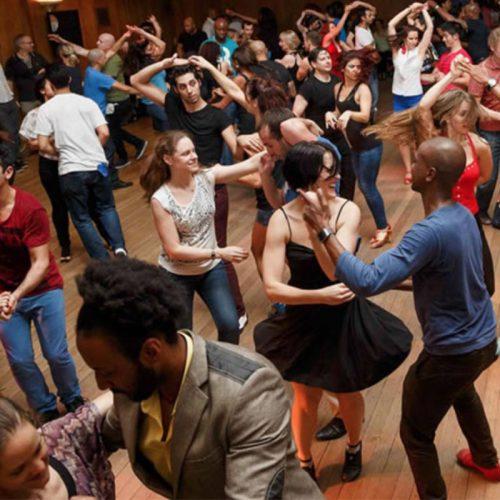 Social dance events